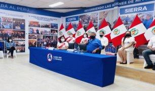 César Acuña dio inicio a campaña para apoyar a Keiko Fujimori en segunda vuelta