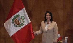 Keiko Fujimori confirma su participación virtual en evento al que fue invitada por Vargas Llosa