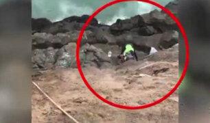 Hombre lanzado de acantilado: familiares denuncian que uno de los autores sería liberado