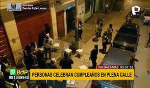 Pachacamac: intervienen a más de 70 personas en operativo policial