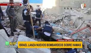 Nuevo bombardeo: Israel ataca complejo del alcalde de Gaza