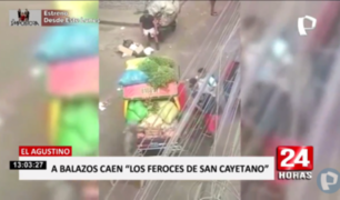 El Agustino: caen integrantes de banda 'Los feroces de San Cayetano'