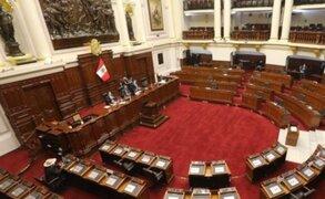 Congreso: Pleno aprueba establecer cuarta legislatura en actual período parlamentario