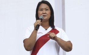 Keiko Fujimori propone aporte solidario de empresas mineras para la agricultura