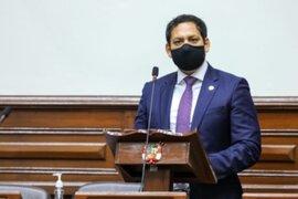 Valdez rechazó supuesta injerencia del presidente Sagasti respecto a los proyectos que el Congreso busca aprobar
