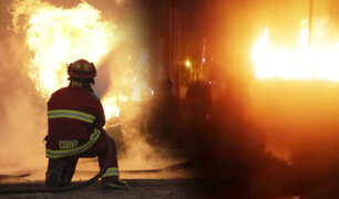 Incendio consume vivienda en el Rímac