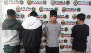 Cae peligrosa banda de asaltantes integrada por 3 menores de edad
