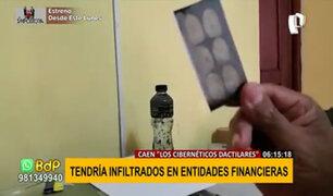 """Cibernéticos dactilares"": mafia suplantaba identidades para robar cuentas bancarias"