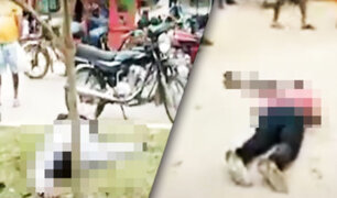 Pucallpa: policía abate a dos delincuentes y deja a otro herido