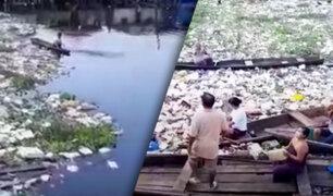 """Iquitos: río """"Itaya"""" se ha convertido en un basural"""