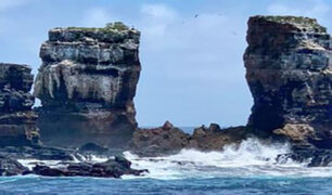 """Ecuador: icónico """"Arco de Darwin"""" de las islas Galápagos se derrumba"""
