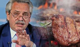 Argentina suspende exportación de carne de res por un mes