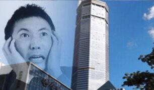 Rascacielos tiembla misteriosamente y causa pánico en China