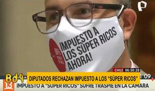 """Chile: diputados rechazan impuesto a los """"súper ricos"""""""