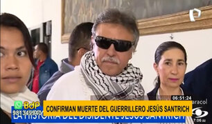 Colombia: reportan muerte de Jesús Santrich, guerrillero disidente de las FARC