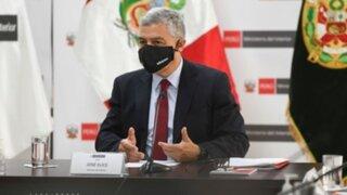 José Elice: ministro del Interior dio positivo a Covid-19