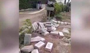 Parque del Recuerdo: vocero afirmó que se notificó sobre retiro de lápidas para mejorar césped