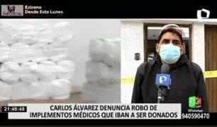 Carlos Álvarez sufre robo: forzaron puerta y se llevaron 60 mil en donativos