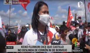Keiko Fujimori reafirma propuesta de 40% de canon minero para la población