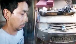 Ate: Policía interviene taller donde desmantelaban autos robados
