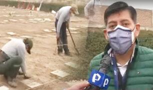 """Tras  denuncias por irregularidades así está el cementerio """"Parque del Recuerdo"""""""