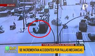 Recomiendan revisión técnica: aumentan en un 40% accidentes vehiculares por fallas mecánicas