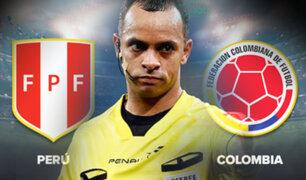 Conmebol designó al brasileño Wilton Sampaio como árbitro para el Perú - Colombia