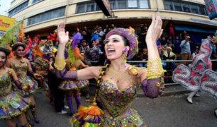 """Bolivia defiende las danzas """"Morenada"""" y """"Caporales"""" tras impasse con Perú"""