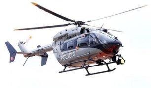 PNP reanudó trabajos de búsqueda de helicóptero que desapareció en Puno