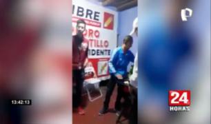 Ica: intervienen a militantes de Perú Libre reunidos en pleno toque de queda