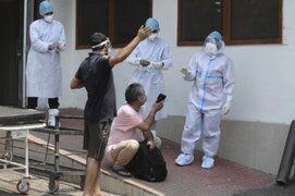 """""""Hongo negro"""": India lucha contra rara infección que ataca a pacientes con Covid-19"""