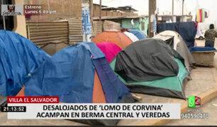 VES: desalojados de Lomo de Corvina piden una morada digna