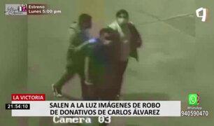 Cámara registró robo de donativos que Carlos Álvarez guardaba en almacén