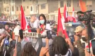 Keiko Fujimori se reunió con integrantes de ollas comunes y gremios de mototaxistas