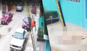 Trabajador extranjero muere al caer de escalera cuando realizaba una instalación