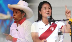 Datum: Pedro Castillo y Keiko Fujimori acortan aún más la distancia