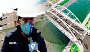 "SMP: Obra del puente ""Morales Duárez"" ya está a un 46%"