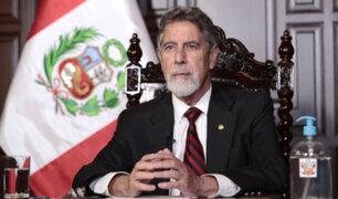 """Presidente Sagasti: """"Quiero transmitir al nuevo presidente qué es lo que habría que hacer"""""""