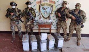 Huánuco: en amplio operativo policías encuentran bajo tierra más de 200 kilos de cocaína