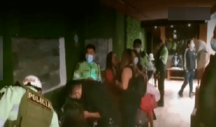 Los Olivos: intervienen a decenas de personas en bar-karaoke que atendía en pleno toque de queda