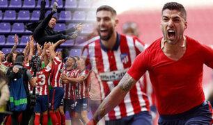 Atlético Madrid se coronó campeón de La Liga de España