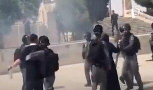 Pese a alto al fuego se registraron nuevos choques entre palestinos e israelíes