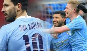 Manchester City: Agüero se despide de la Premier con dos goles