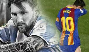 Lionel Messi aún no define su permanencia en el Barcelona