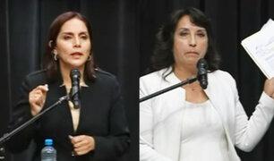 Debate JNE: Patricia Juárez y Dina Boluarte explicaron sus planes sobre reforma del Estado