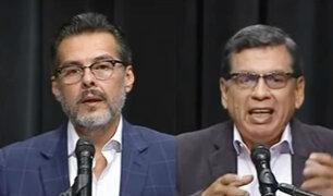 Debate JNE: propuestas de representantes de Perú Libre y Fuerza Popular en Salud y manejo de pandemia