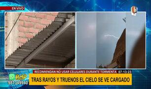 Rayos y truenos en Lima: hace 100 años que no se ve este fenómeno en la capital