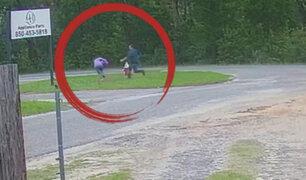 Niña ayuda a capturar a secuestrador gracias a técnica que vio en serie policial