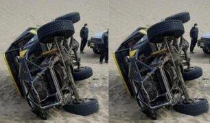 Ica: hombre muere tras volcarse carro tubular que conducía por las Dunas de la Huacachina