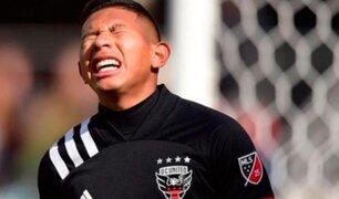 Alarma en la bicolor: Edison Flores se lesionó durante encuentro DC United vs Philadelphia